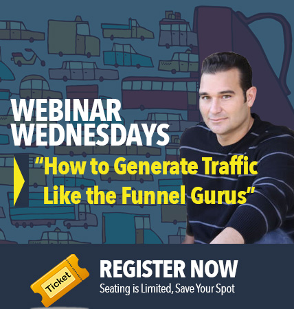 Webinar Pro : Cold Traffic Funnels