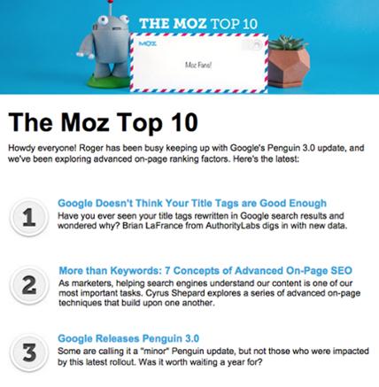 Moz Top Ten